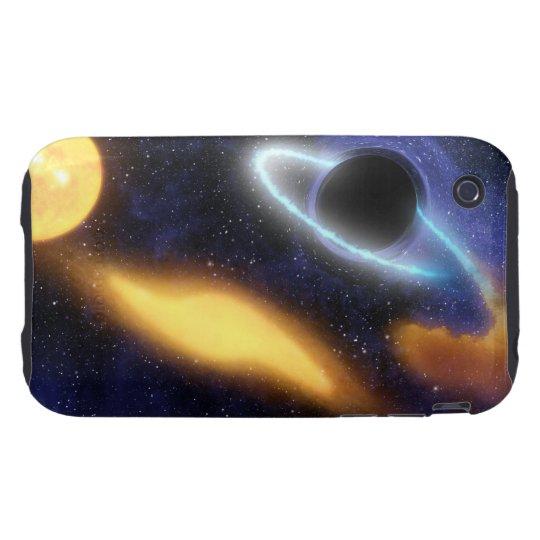 Calabozo y estrella funda resistente para iPhone 3