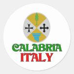 Calabria Italia Etiqueta