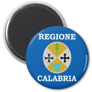 Calabria, Italia Imán Redondo 5 Cm