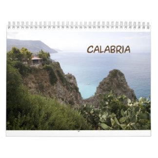 Calabria Italy 2013 Wall Calendar