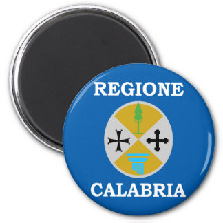 Calabria, Italy 2 Inch Round Magnet