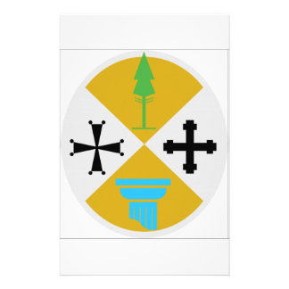 Calabria (Italy) Coat of Arms Stationery Design
