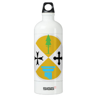 Calabria (Italy) Coat of Arms Water Bottle
