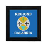 Calabria (Italy) Flag Jewelry Boxes