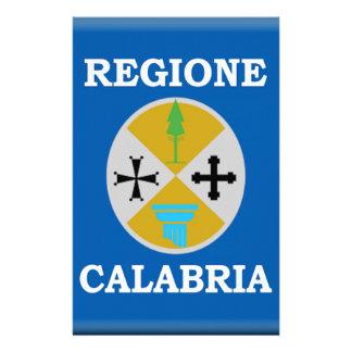 Calabria (Italy) Flag Stationery Design