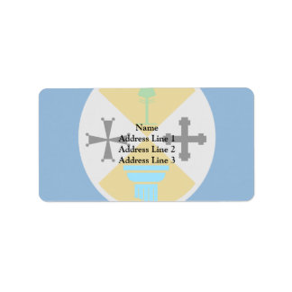 Calabria, Italy Personalized Address Label