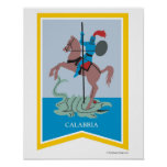 Calabria Italy Region Art Print