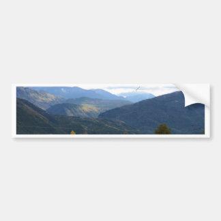 Calabria Panorama Car Bumper Sticker