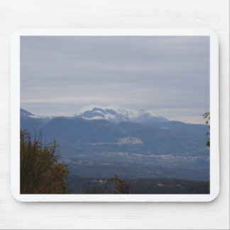 Calabria Winter Landscape Mouse Pad