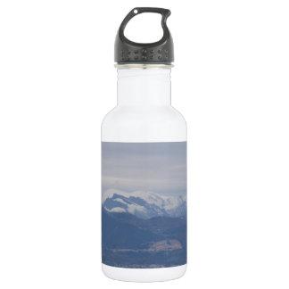 Calabria Winter Landscape Water Bottle