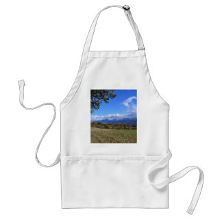 Calabrian Countryside Adult Apron