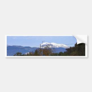 Calabrian Mountain Car Bumper Sticker