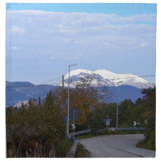 Calabrian Mountain Cloth Napkin