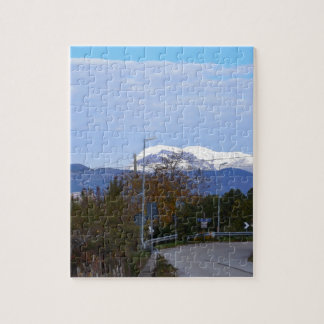 Calabrian Mountain Jigsaw Puzzle