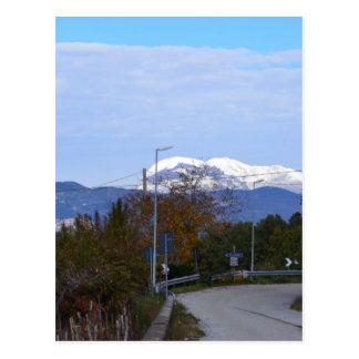Calabrian Mountain Postcard