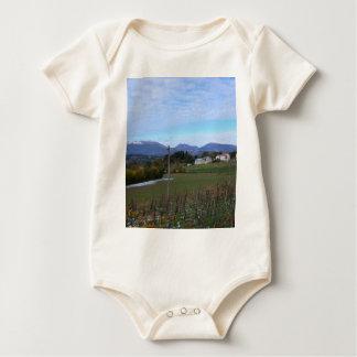 Calabrian Vineyard Baby Bodysuit