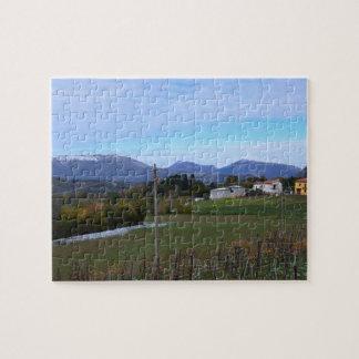 Calabrian Vineyard Jigsaw Puzzle