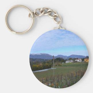 Calabrian Vineyard Keychain