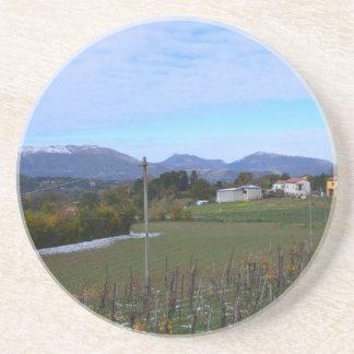 Calabrian Vineyard Sandstone Coaster