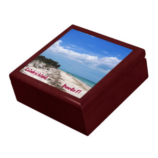 Caladesi Island Fl Trinket Box