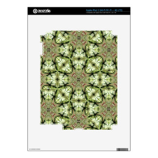 Caladium Leaf Abstract iPad and EReader Decal iPad 3 Decals