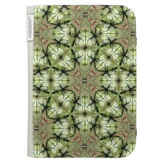 Caladium Leaf Abstract Kindle Cover