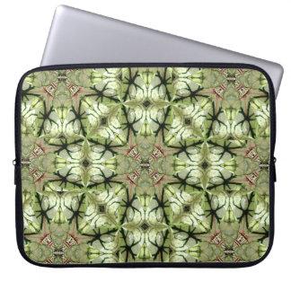 Caladium Leaf Abstract Laptop Sleeve