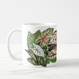Caladium Leaves Mug