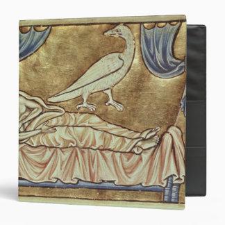 Caladrius bird, reputed to foretell binder