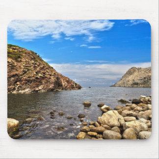 Calafico bay - San Pietro island Mouse Pad