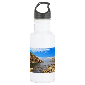 Calafico bay - San Pietro island Stainless Steel Water Bottle