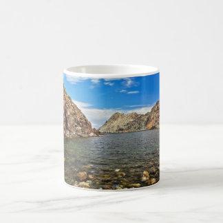 Calafico bay - San Pietro isle Coffee Mug