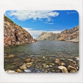 Calafico bay - San Pietro isle Mouse Pad