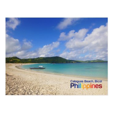 Calaguas Beach Bicol Philippines Postcard