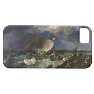 Calais Pier by Joseph Mallord William Turner iPhone SE/5/5s Case