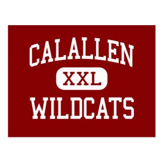 Calallen - gatos monteses - centro - Corpus Postales