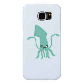 Calamar de Kawaii Fundas Samsung Galaxy S6