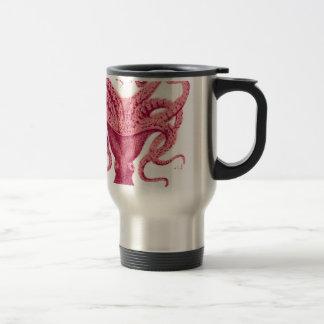 Calamar de Kraken del pulpo Taza Térmica