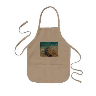 Calamar del Caribe Delantal Infantil