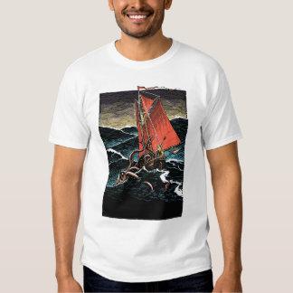 Calamar gigante camisas