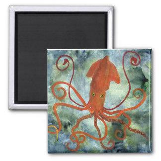 calamar imanes de nevera
