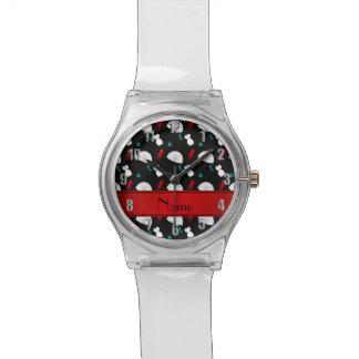 Calamar negro conocido personalizado de los reloj