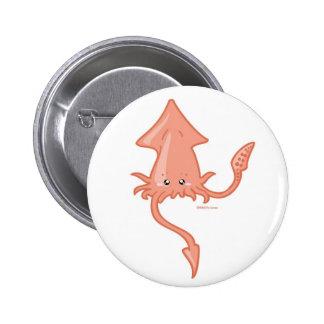 Calamar Pin Redondo De 2 Pulgadas