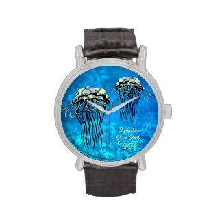 Calamar - vida marina - reloj adaptable