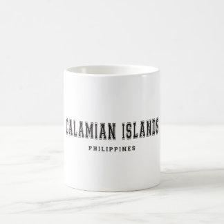 Calamian Islands Philippines Coffee Mug