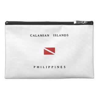 Calamian Islands Philippines Scuba Dive Flag Travel Accessories Bags