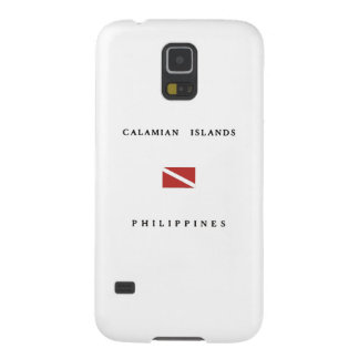 Calamian Islands Philippines Scuba Dive Flag Cases For Galaxy S5