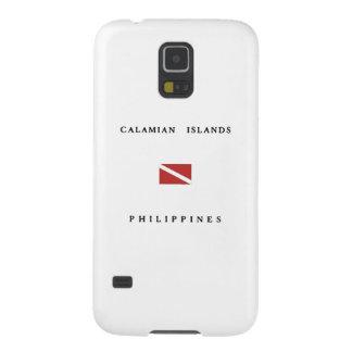 Calamian Islands Philippines Scuba Dive Flag Galaxy S5 Case