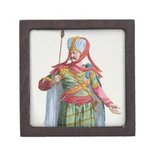 Calamin-Han, emperador y Sovereign de Asia de 'R Cajas De Recuerdo De Calidad