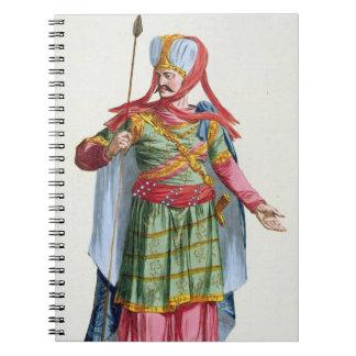 Calamin-Han, emperador y Sovereign de Asia de 'R Libro De Apuntes Con Espiral